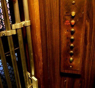 Κουμπιά Παλιού Ανελκυστήρα