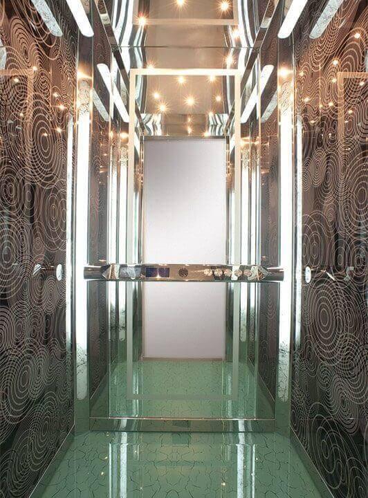 Θάλαμος Ανελκυστήρα - Crystal