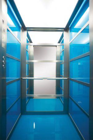 Θάλαμος Ανελκυστήρα - Glass